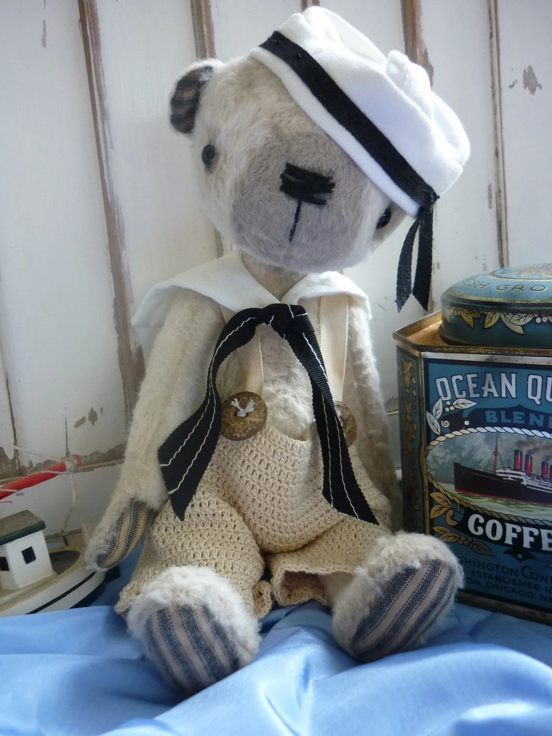 Introducing Johnny Come Lately from Luvly Bears - LuvlyBearsandthings