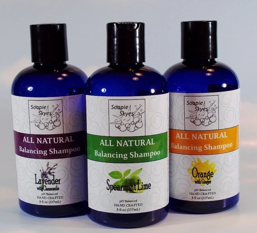 All Natural Balancing Shampoo - 3 pack