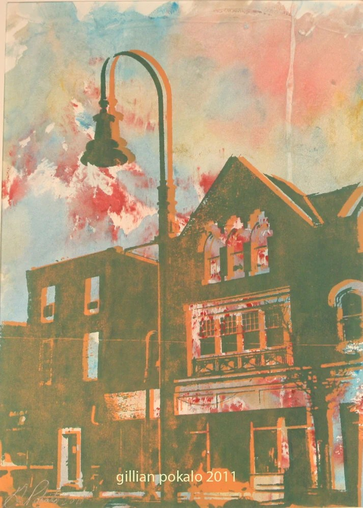 Lancaster Ave (matted 11x14) - pokaloprint