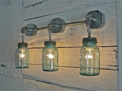 mason jar light etsy