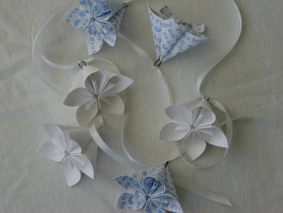Kusudama flowers comme décoration de table
