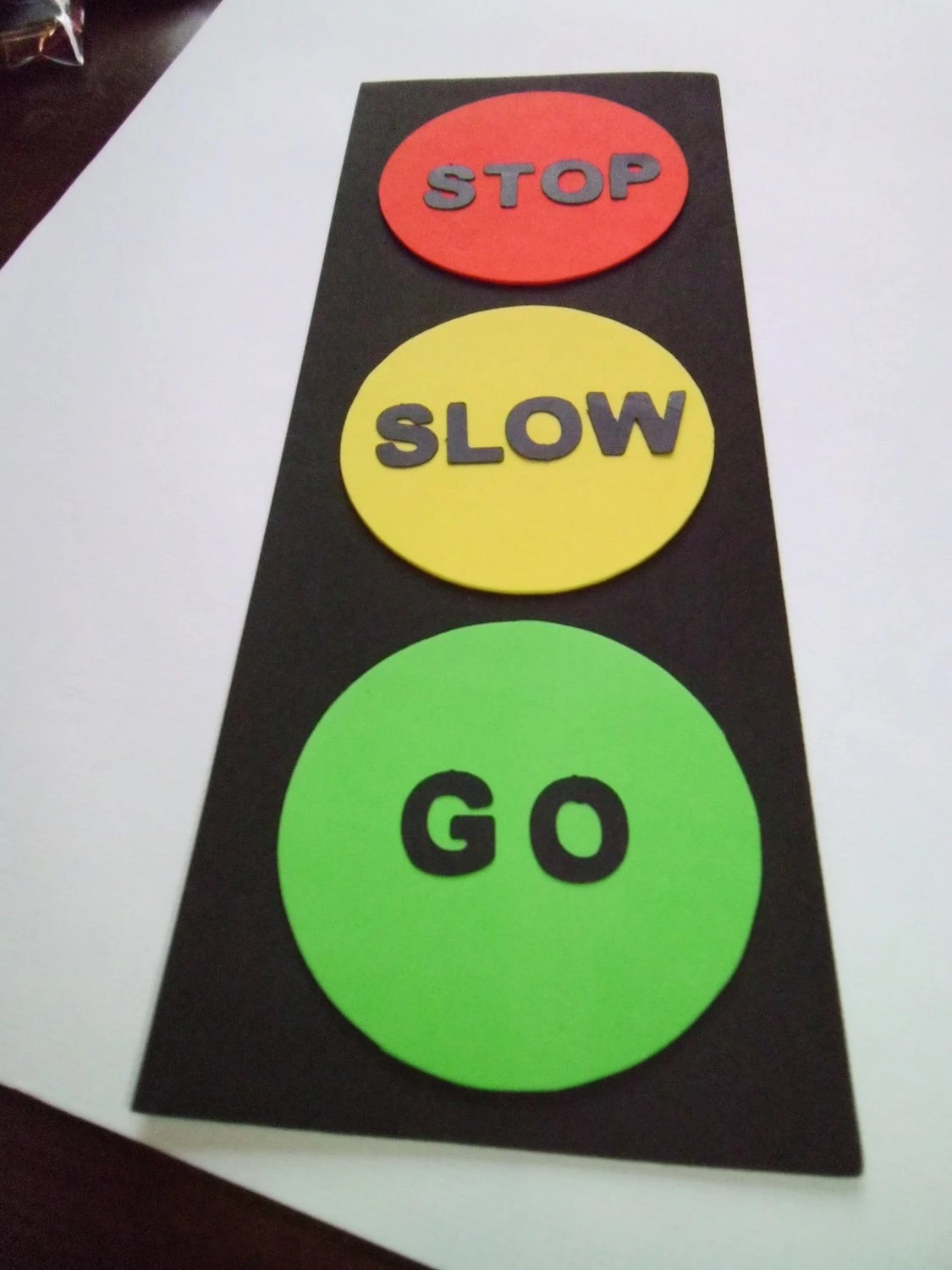 Traffic Light Craft Kit For Kids Birthday Party Favor