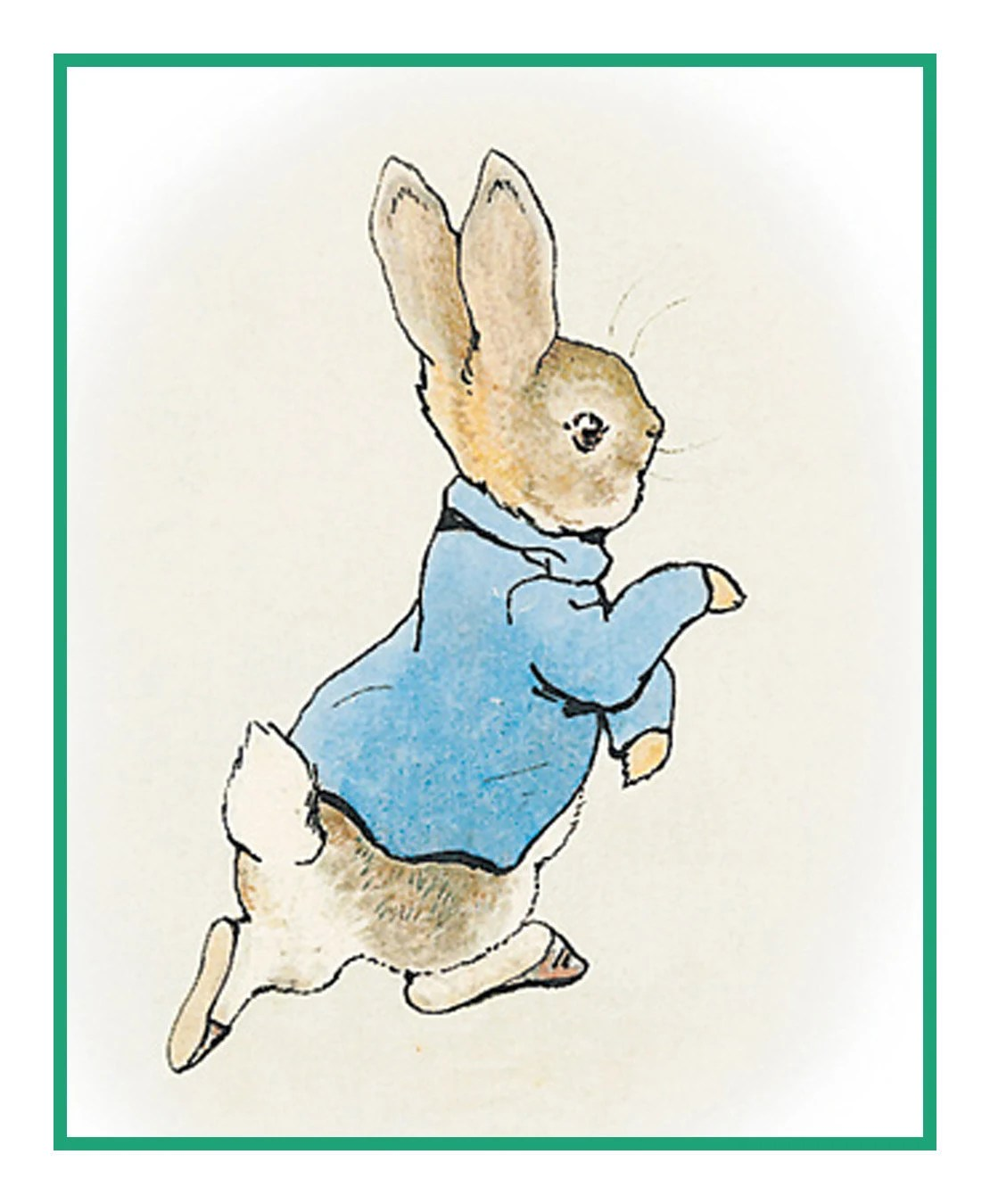 Peter Rabbit From The Tales Of Peter Rabbit By Beatrix Potter