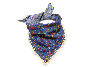 Summer shabby chic crochet cotton scarf - BagsbyMellysse