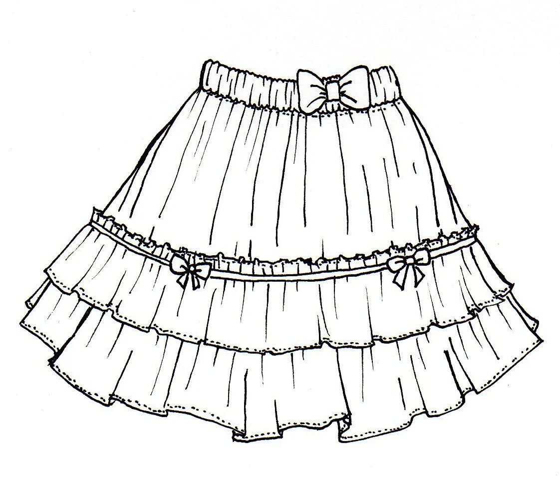 22 Lastest Skirts To Draw