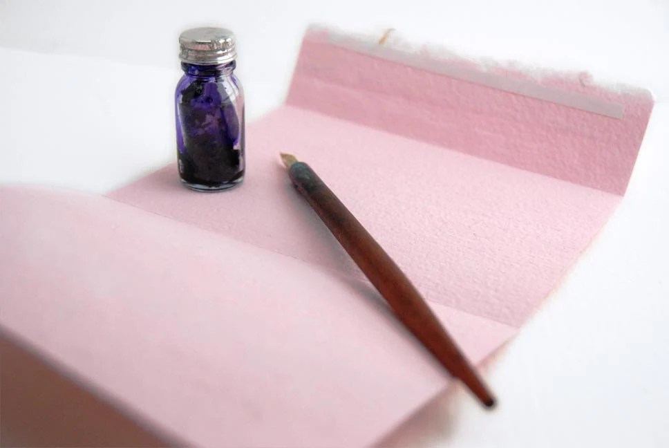Pink Stationery Set - MapleStreetPaperCo