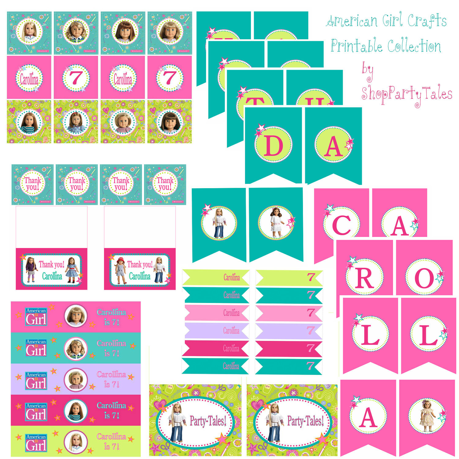 American Girl Crafts Doll Party Collection Cupcake By