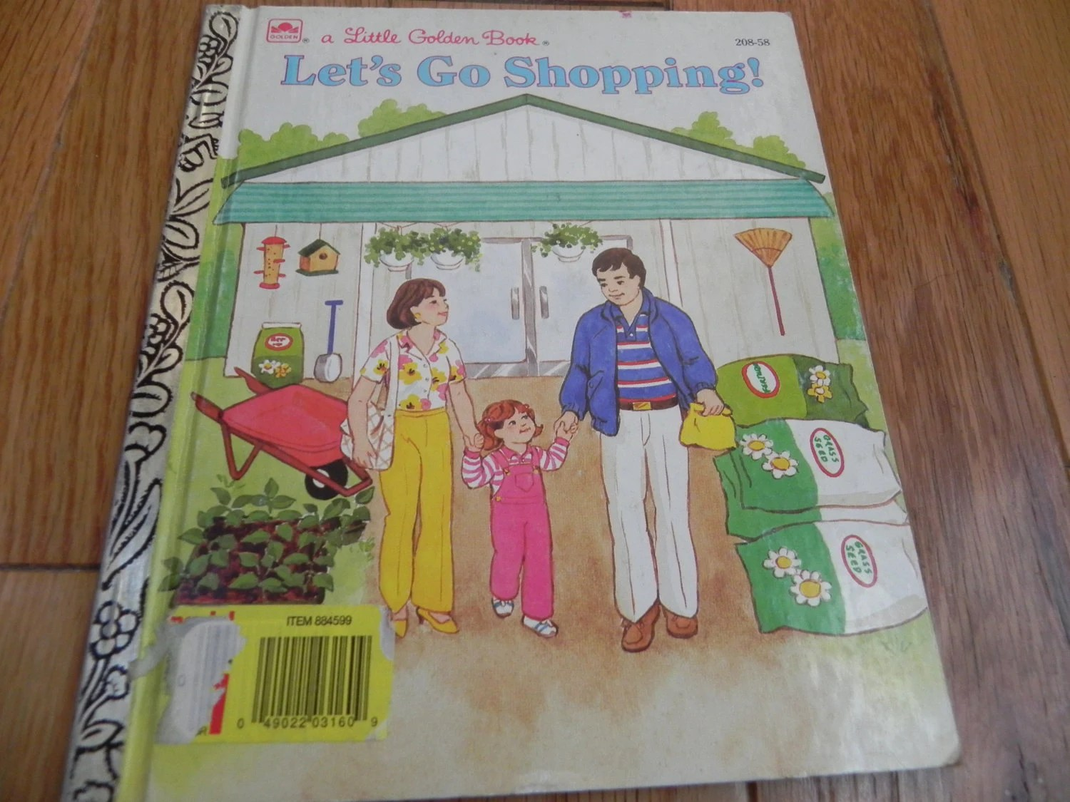 Vintage Let S Go Shopping A Little Golden Book By Cjsj On Etsy