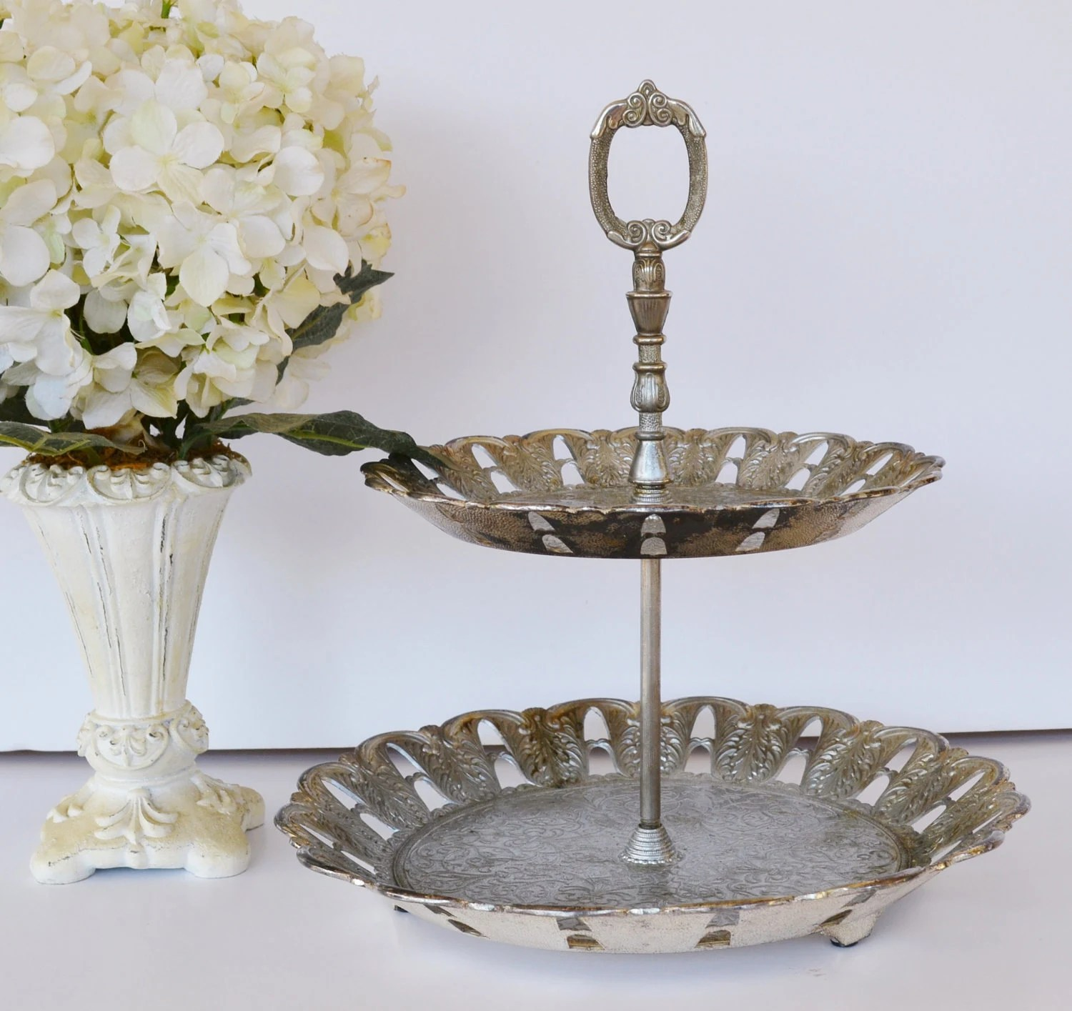 Vintage Cake Stand Vintage Silver Plated Cake Stand Cake Plate