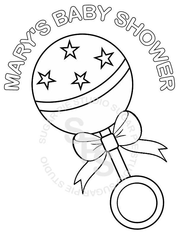 personalized printable baby shower favorsugarpiestudio