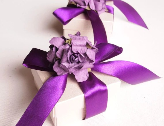Items Similar To Wedding Favors, Purple, Personalized