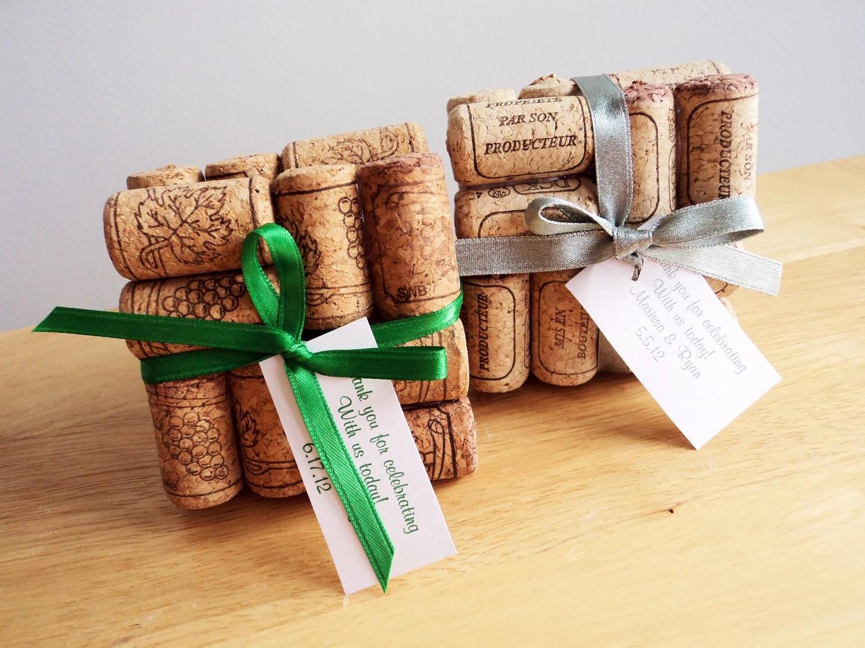 Items Similar To Wedding Favor, Wine Cork Coaster, Place