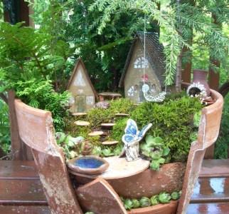 Fairy Garden Broken Planter Kit
