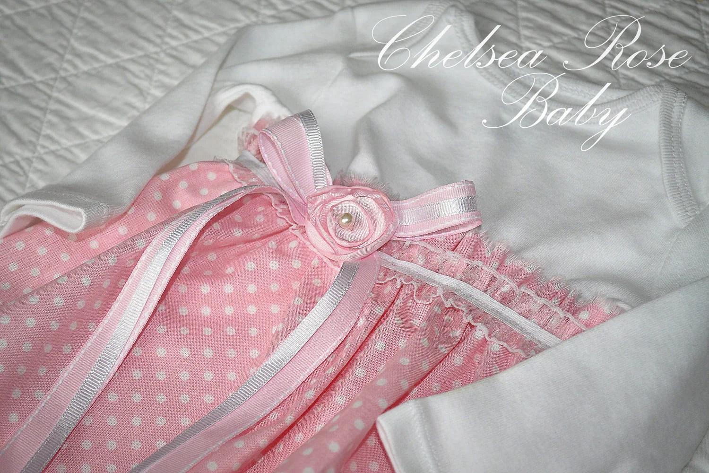 Baby Dress Baby Girl Bodysuit Sleep Gown By ChelseaRoseBaby