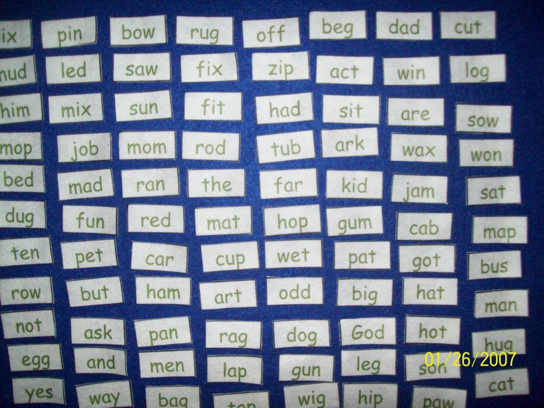 Sight Words For Preschool Kindergarten 95 3 By