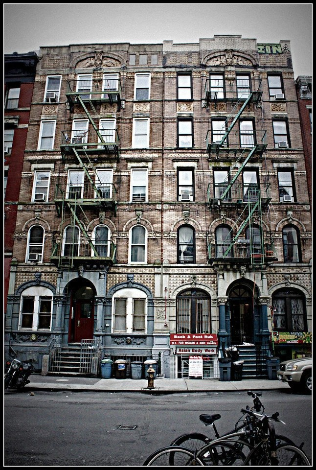 8 x 10 Print Led Zeppelin Physical Graffiti Building in the East Village of New York City