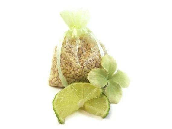Lime Cooler Aroma Sachet Corn Cob Cellulose Fiber - SerendipityCandle
