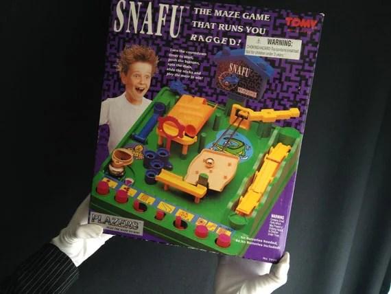 Snafu Run Yourself Ragged Marble Maze Game