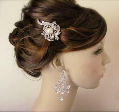 art deco bridal hair b vintage inspired bridal hair b