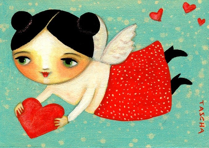 """Flying Angel"" by tascha on Etsy.com"