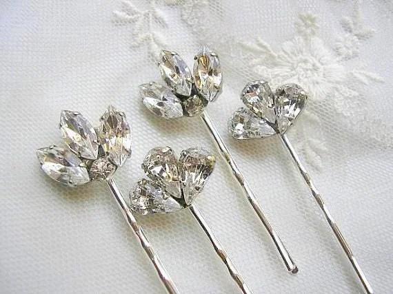 Items Similar To Bridal Hair Pins Wedding Hair