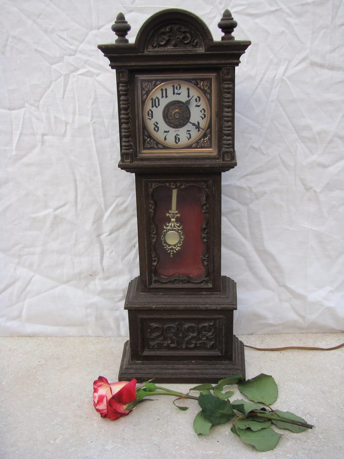 Vintage Mini Grandfather Clock