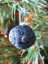 Lump of Coal Ornament by KatersAcres