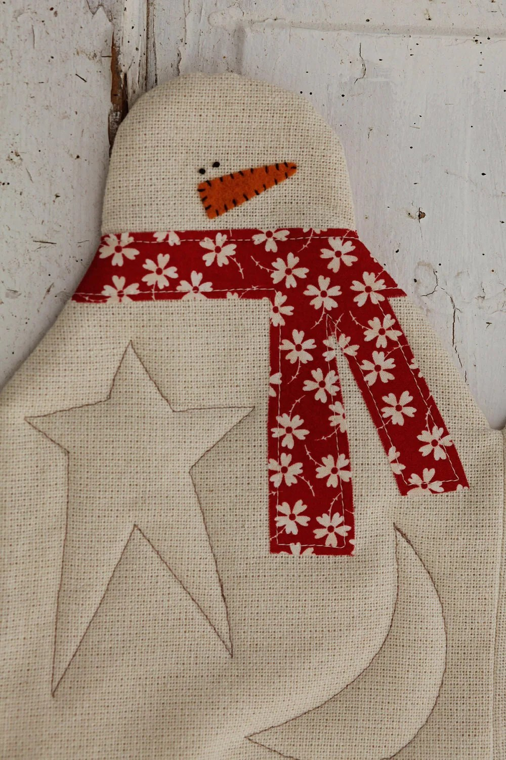 Snowman Table Runner Download Pattern