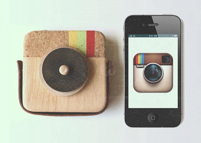 Anagram - Wooden Camera Inspired by Instagram - twigcreative