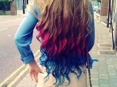 items similar to color your hair at home chalk hair color dip dye pick any color on etsy