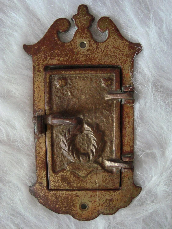 Antique Door Latch Plate