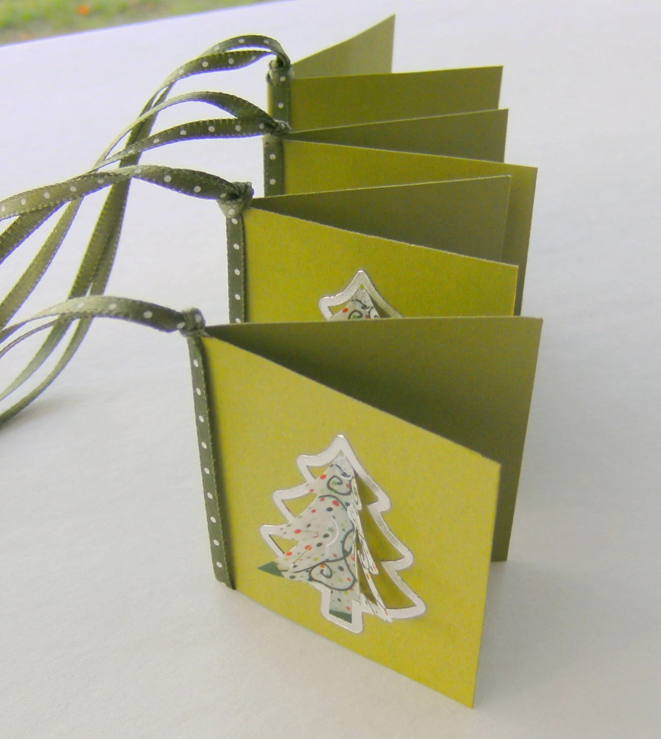 Christmas Holiday Gift Tags Dimensional Trees - creativedesigns