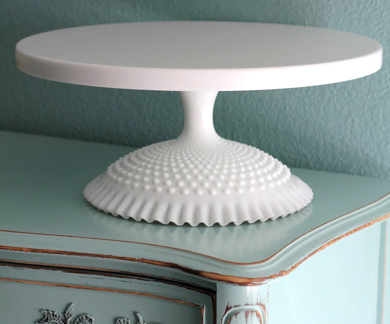 18 Wedding Cake Stand White Cake Pedestal By Therochestudio