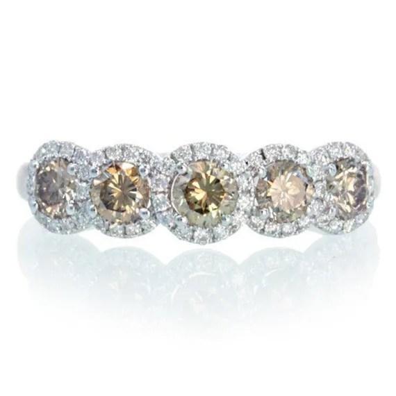 Anniversary Ring 4 Stone Diamond
