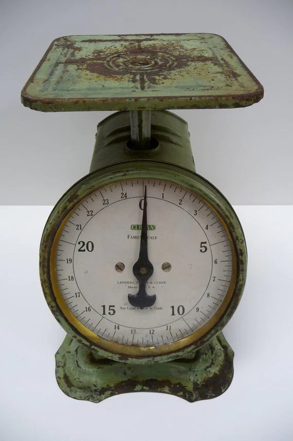 Antique Scale Landers Frary Clark Household Climax Family
