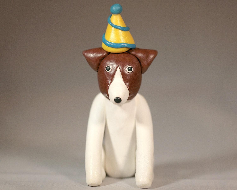 Boston Terrier Dog Birthday Cake