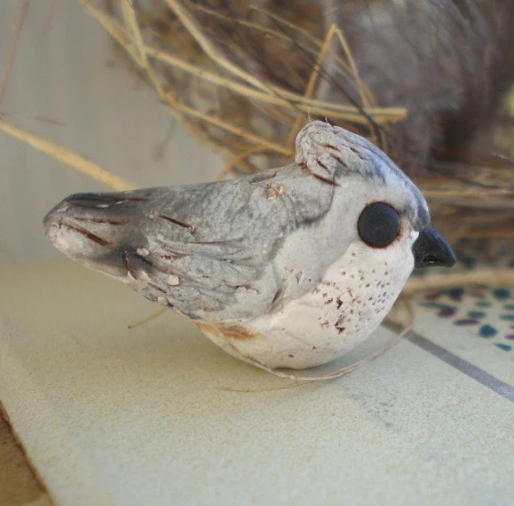 Clay Charm Birdhouse Polymer