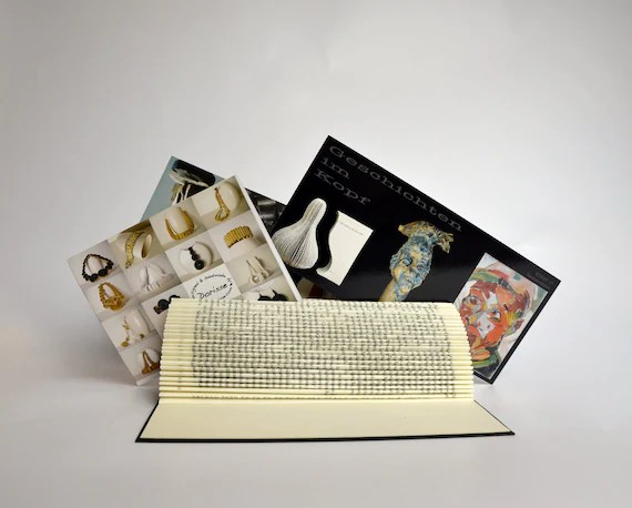 Foto and Business card holder - folded Book