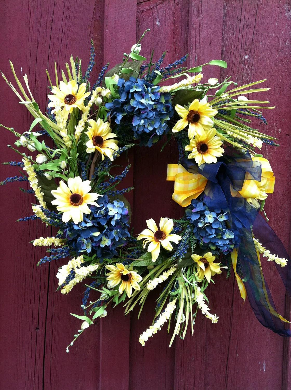 Large Hydrangea Wreaths
