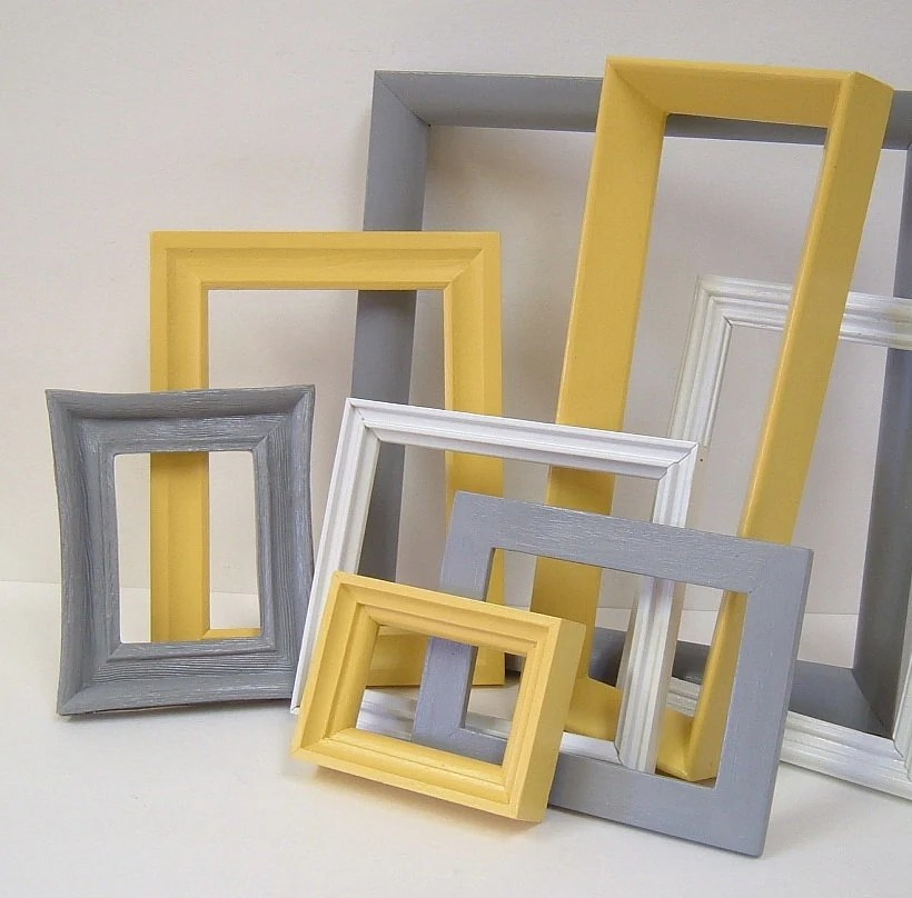 Grey And Yellow Home Decor