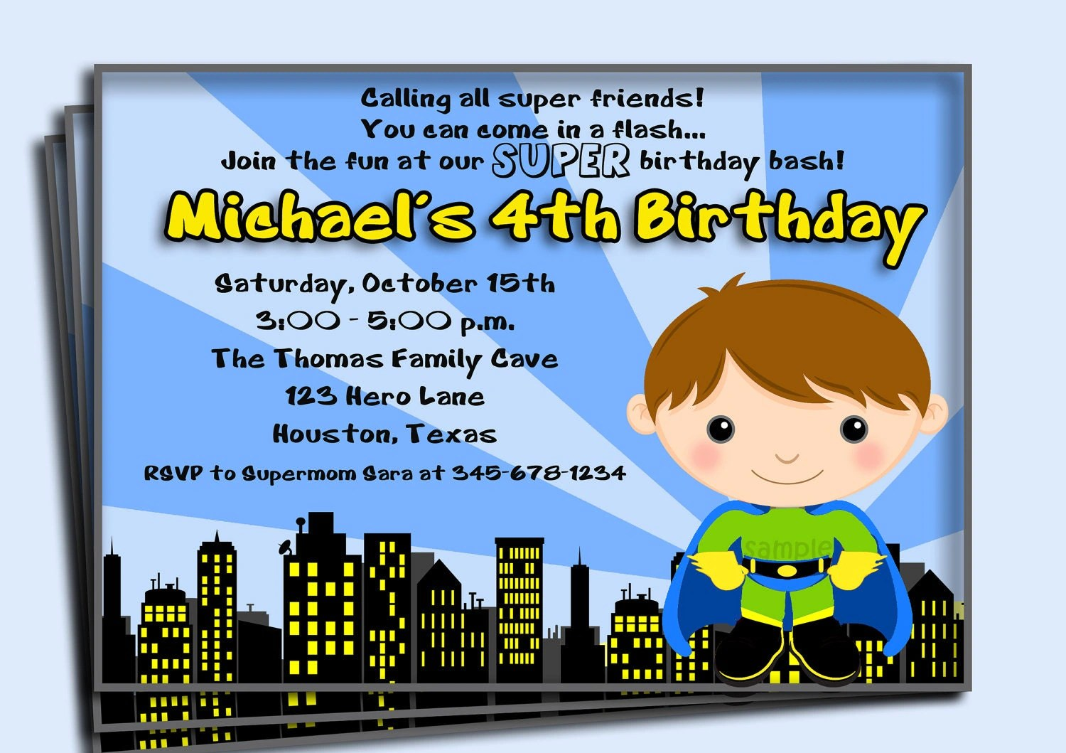 Birthday Invitations You Can Print Out