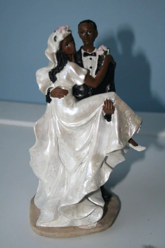 Items Similar To African American Cake Toppers On Etsy