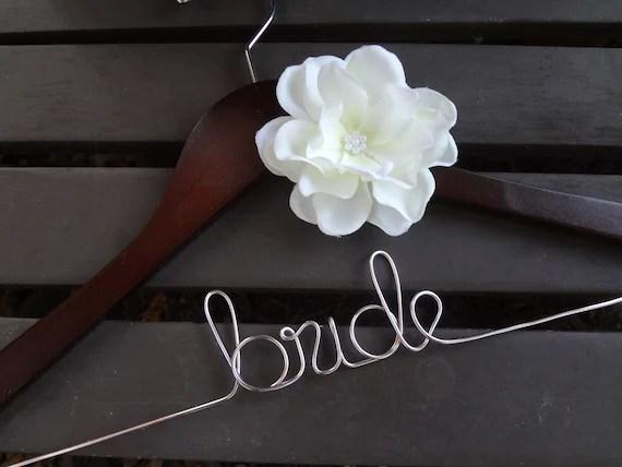 Wedding Dress Hanger Custom Bridal Hanger Personalized