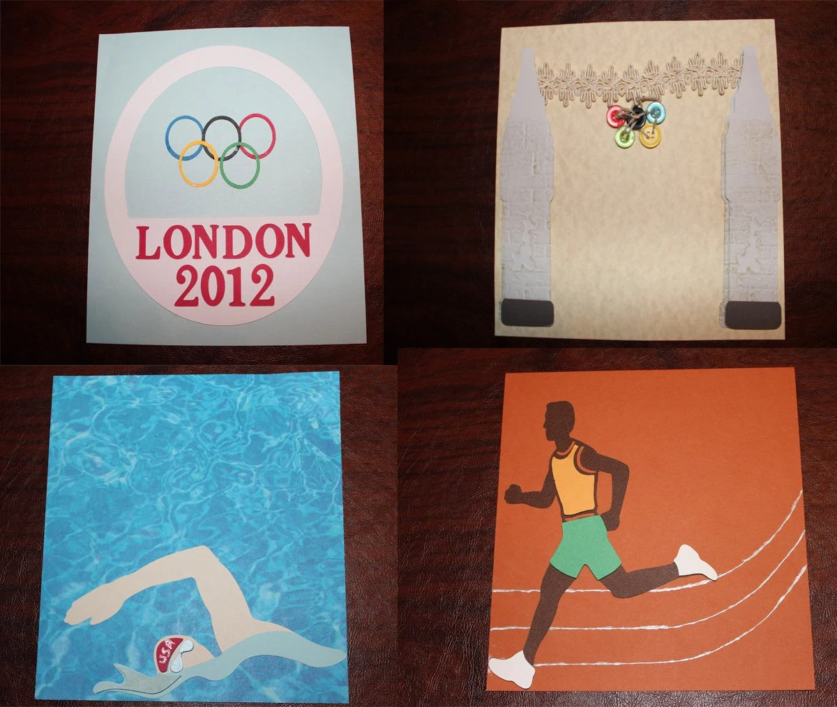 London Olympic Scrapbook 8x8 Pages and Album