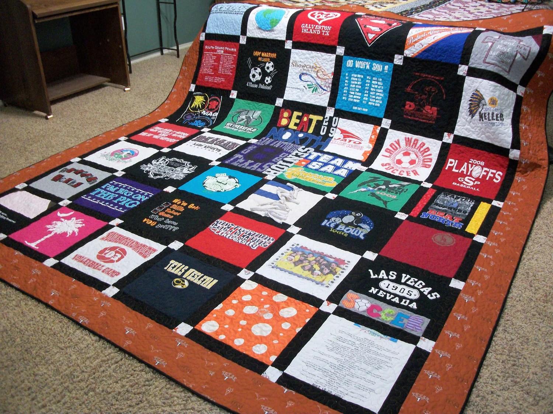 Making Tshirt Blanket