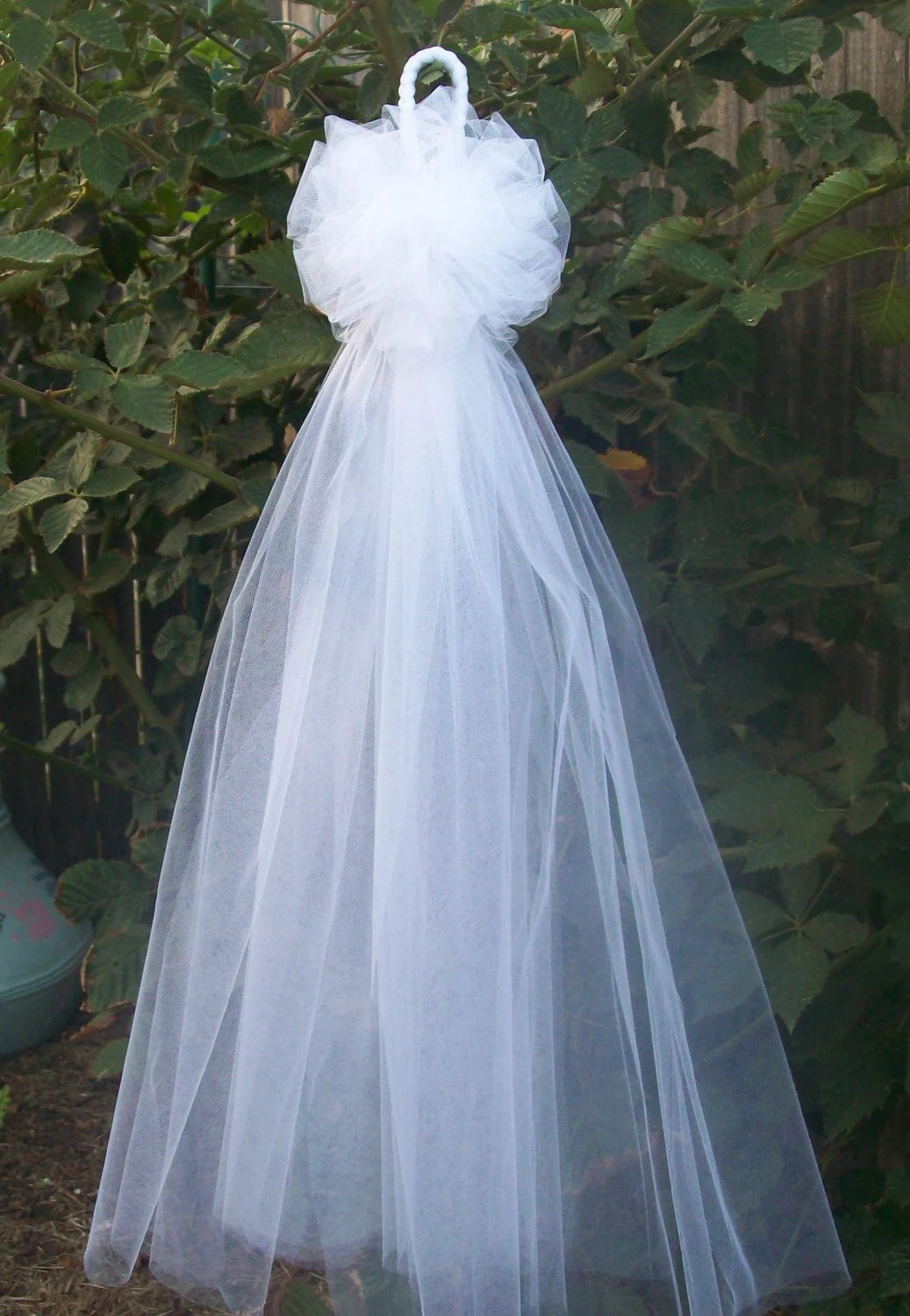 Tulle Pew Bows Quinceanera Church Pew Decor White Pew Bows