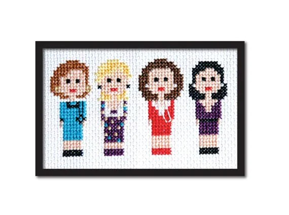 Designing Women 90s TV Cross Stitch Pattern Instant Download