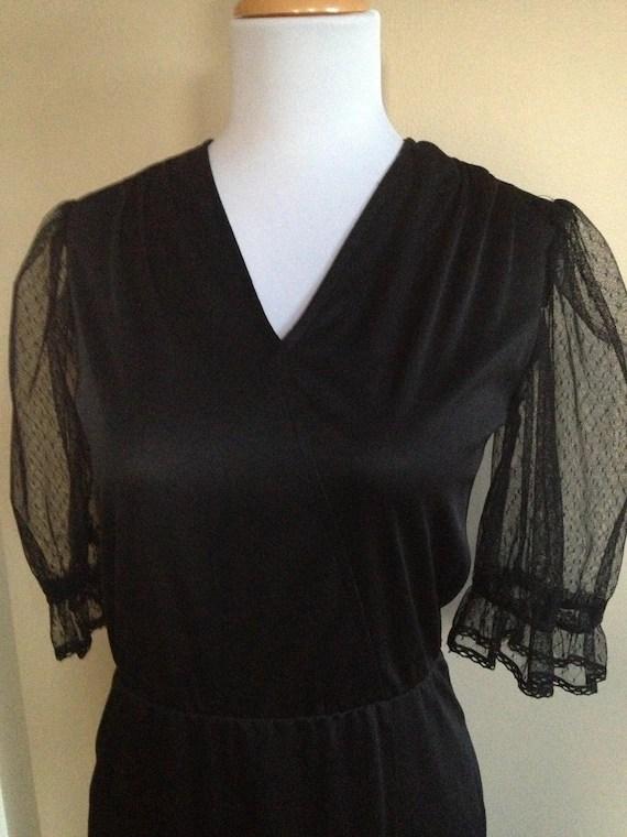 Dress Jcpenney Black Short Lace