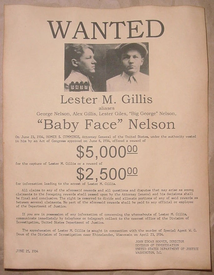 Wanted Lucky Luciano Poster