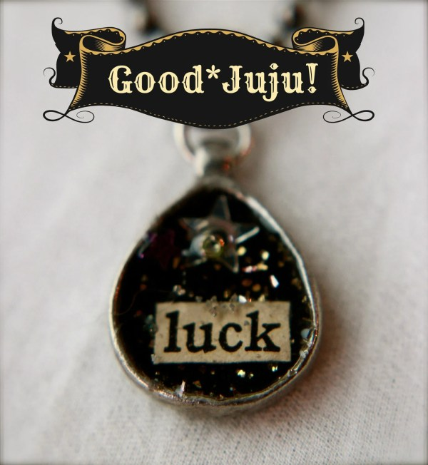 Good Juju Good Luck Necklace by horsetribe on Etsy